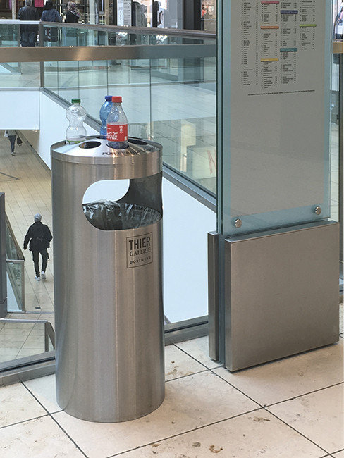 SN-151 Litter bin with bottle collector