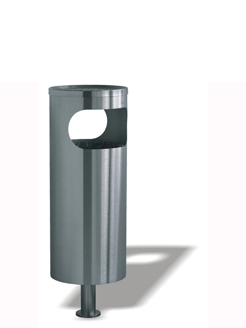 SN-180 Smoker Stand and Litter Bin for roofed areas