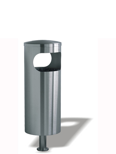 SN-190 Litter Bin for floor foundation or floor bolting
