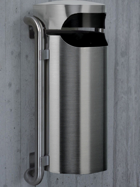 SN-230 Litter Bin for outdoors and wall mounting