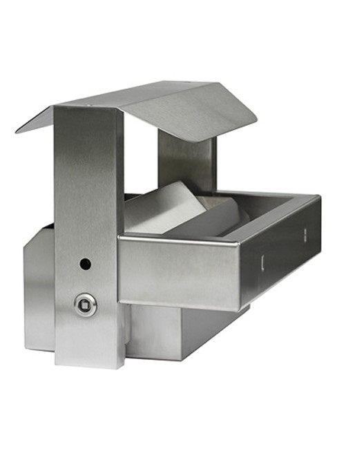 SN-253-W Ashtray for wall mounting with square section lock