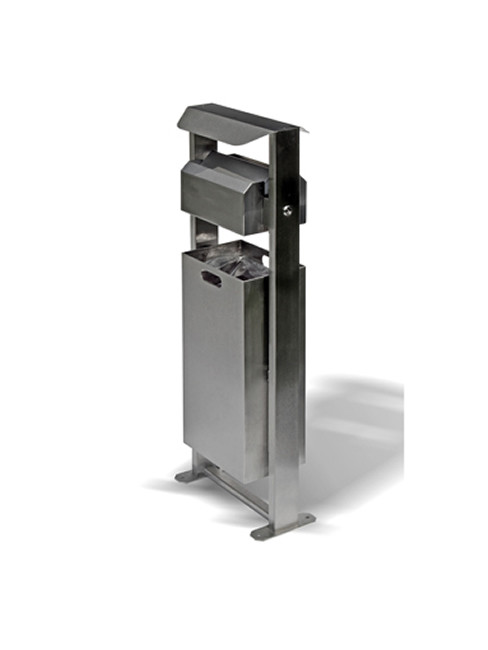 SN-254-D Ashtray and litter bin for outdoors