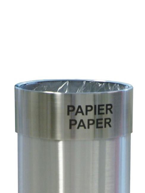Zubehör Abfallbeutelhalter im Ätzdruck beschriftet