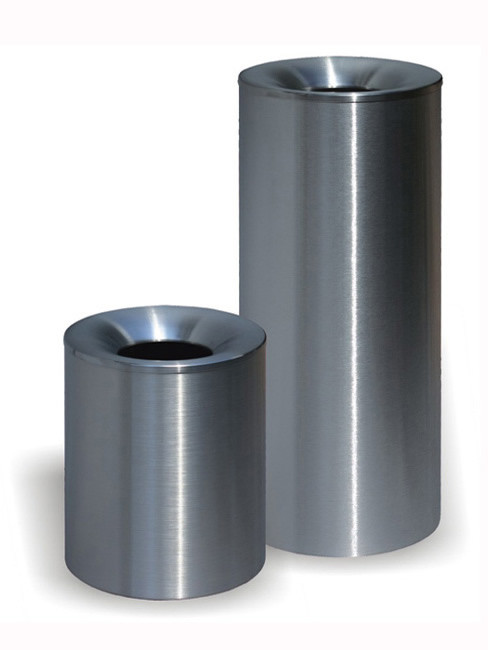 SN-320 Litter Bin with funnel top in height 310 and 600mm