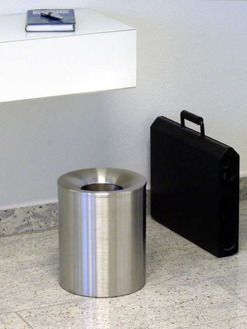 SN-320 Litter Bin with funnel top in height 310 mm