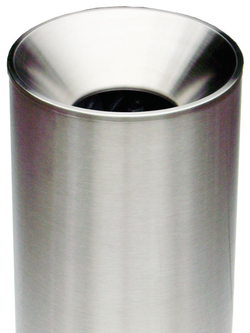 close bin with the funnel top