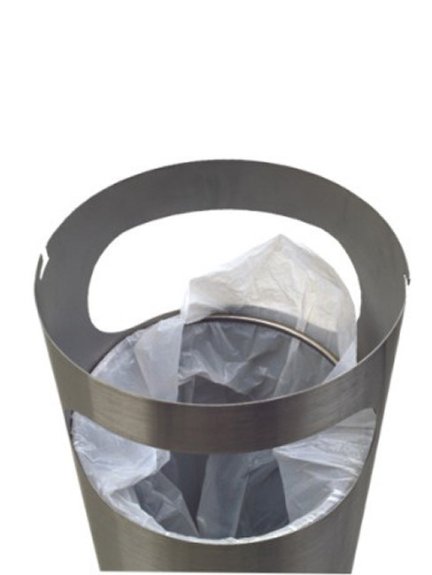 innenliegender Abfallbeutelhalter
