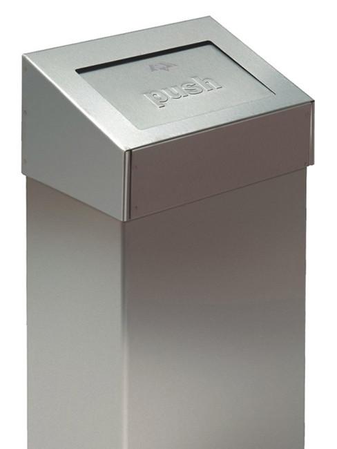 SN-360 Abfallbehälter mit selbstschliessender Klappe