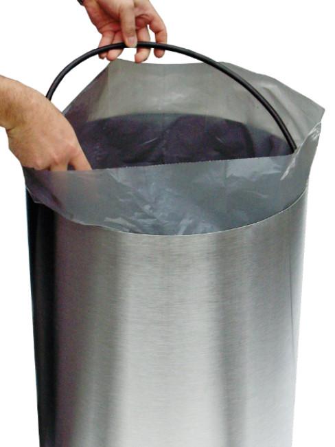 integrated bag holder