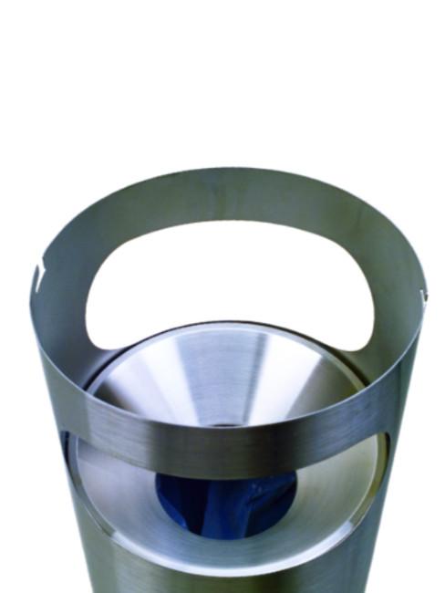 optionaler Trichtereinsatz im Abfallbehälter