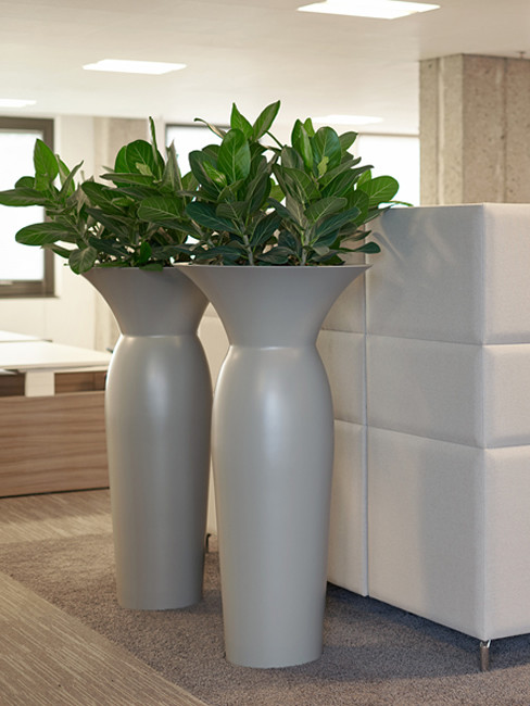 Pedestal Planter KARIF made of Polystyrene