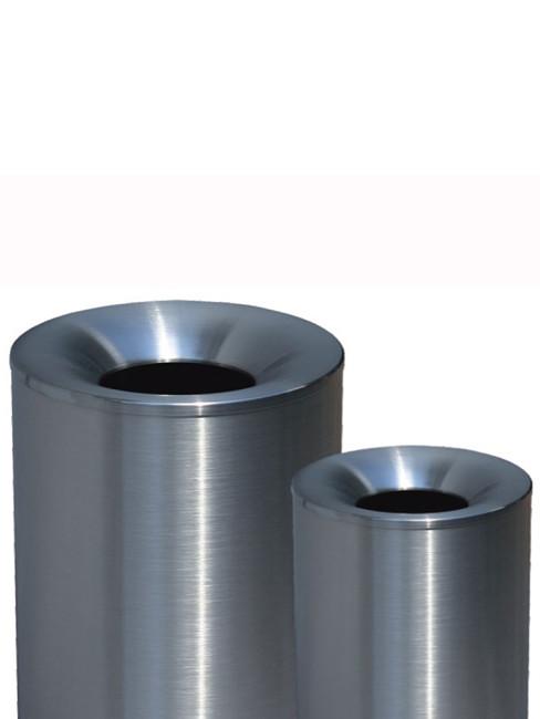 SN-320 in 255x310 mm in Edelstahl geschliffen sowie SNH-320 in natur geschliffen und klar beschichtet