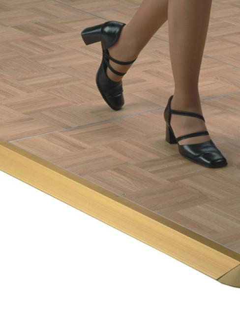 Portable  Floor of  solid oak parquetry