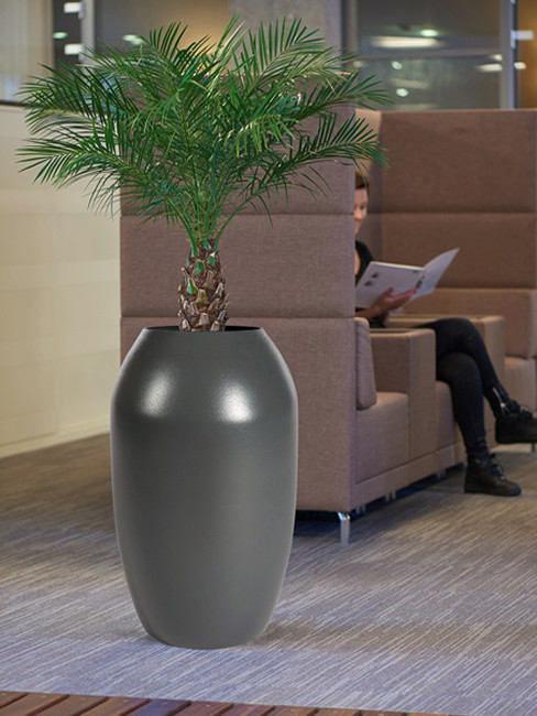 Pflanzensäule PAKA aus Kunststoff